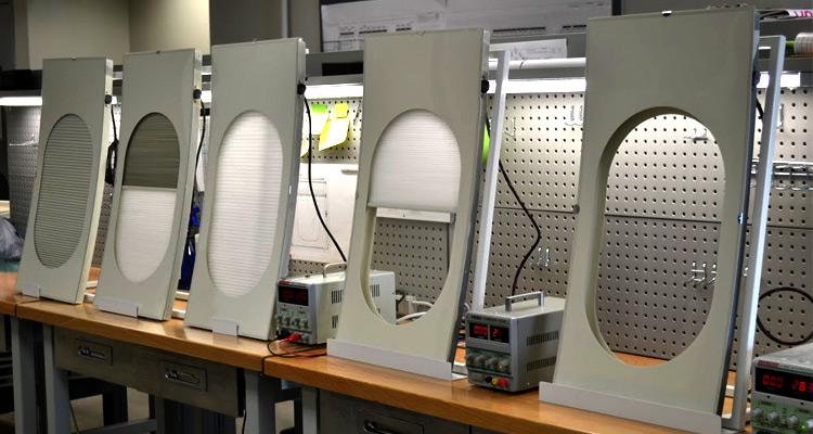 JBRND 787 Window Shades in Testing