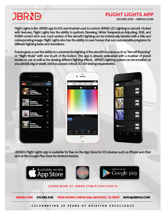 Flight Lights App Brochure