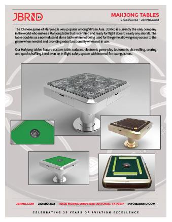 Mahjong Table Brochure