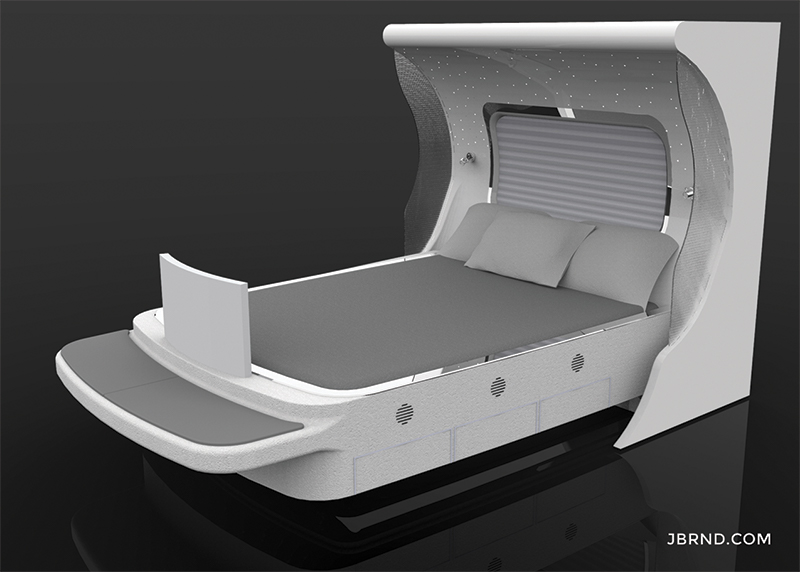 Custom VIP Beds for Aircraft