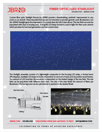 Fiber Optic Starlight Brochure