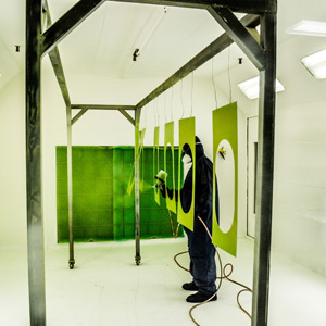 Multiple Paint Booths
